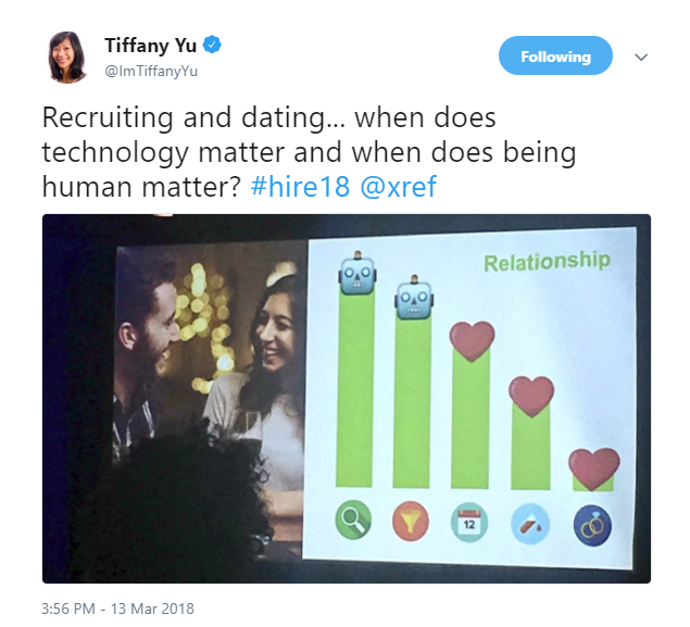 2018-03-15 16_21_29-Tiffany Yu on Twitter_ _Recruiting and dating... when does technology matter and